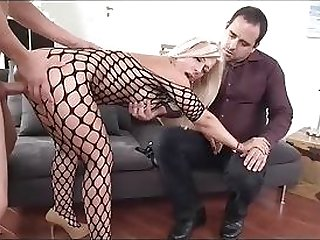 Numero uno hubby And His killer towheaded wifey inhaling man meat best sex