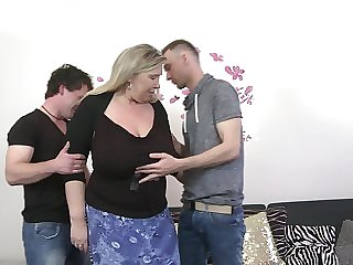 Bartina needs exceeding only one chunky dick to get pleased