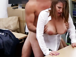 Married business lady agreed fuck for money