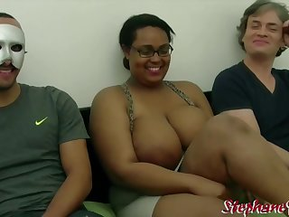 Kh4ti4 - French Cabo Verde BBW Wants a Interracial Threesome