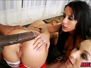 Hard Gaping Anal from BBC
