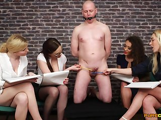 CFNM in fine scenes of group XXX fetish