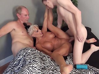 Sally D'angelo In Granny Sally Is A Hot Mature Slut Hungry For Cock