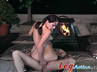 Midnight sexual delight for a perfect amateur
