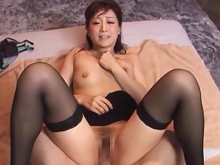 Japanese mature roughly fucked in gorgeous missionary
